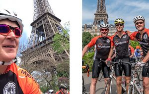 Robert cycling for myeloma charity