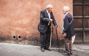 couple elderly cardiovascular healthy