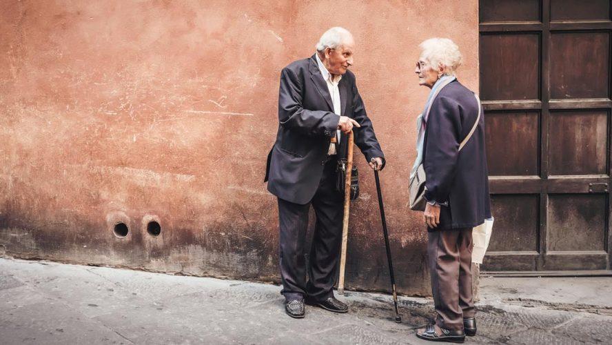 couple elderly cardiovascular healthy