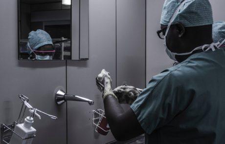 doctors preparing for treatment