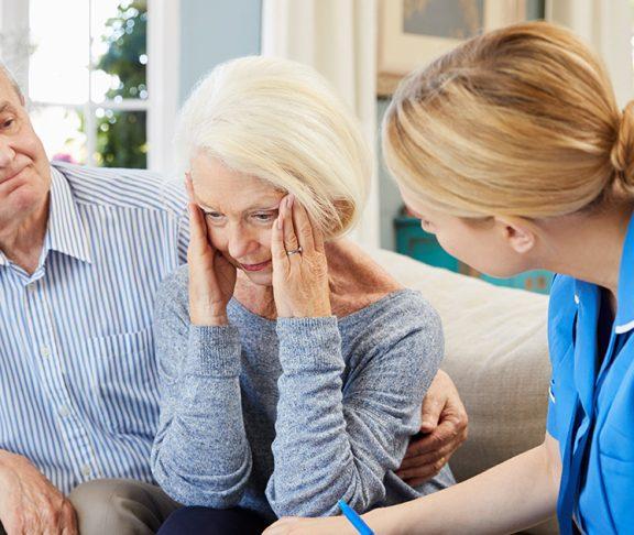 dementia alzheimer doctor patient unit wellbeing