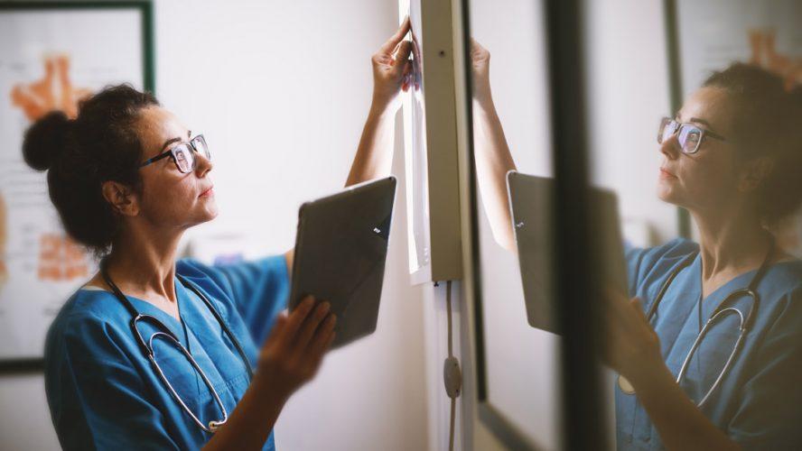 radiology doctor nurses X-rays