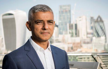 Sadiq Kahn mayor of London