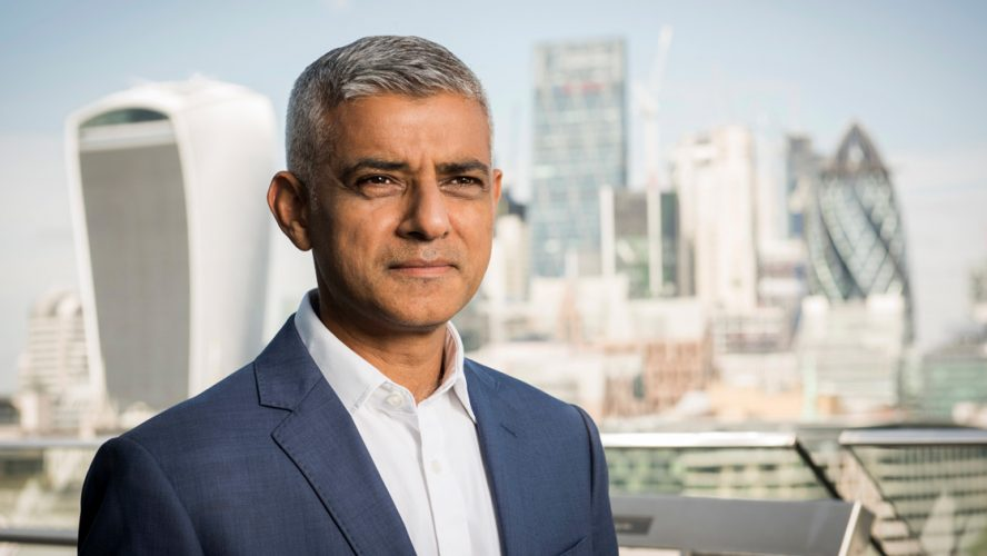 Sadiq Kahn mayor of London