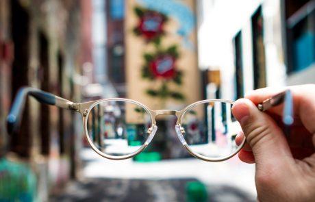 slight loss blind glasses seeing