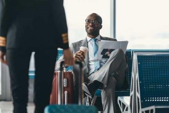 Business travel, business traveller, traveller wellbeing