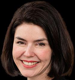 Valérie Glatigny, ministre de l'Aide à la jeunesse de la Fédération Wallonie-Bruxelles.