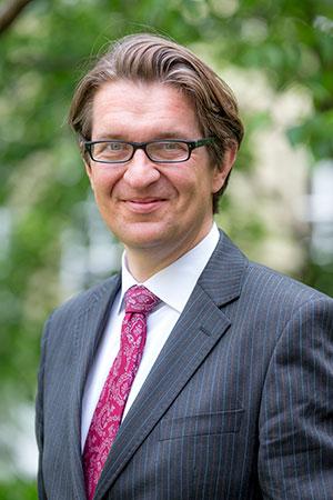 Ludwig Forrest, conseiller en philanthropie à la Fondation Roi Baudouin.