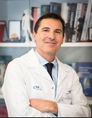 Prof. Patrizio Lancellotti, Président de la Société belge de cardiologie.