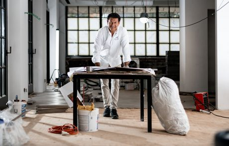 Yves Mattagne, chef doublement étoilé.
