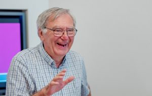 Jul Geeroms, voorzitter Vlaamse Ouderenraad.