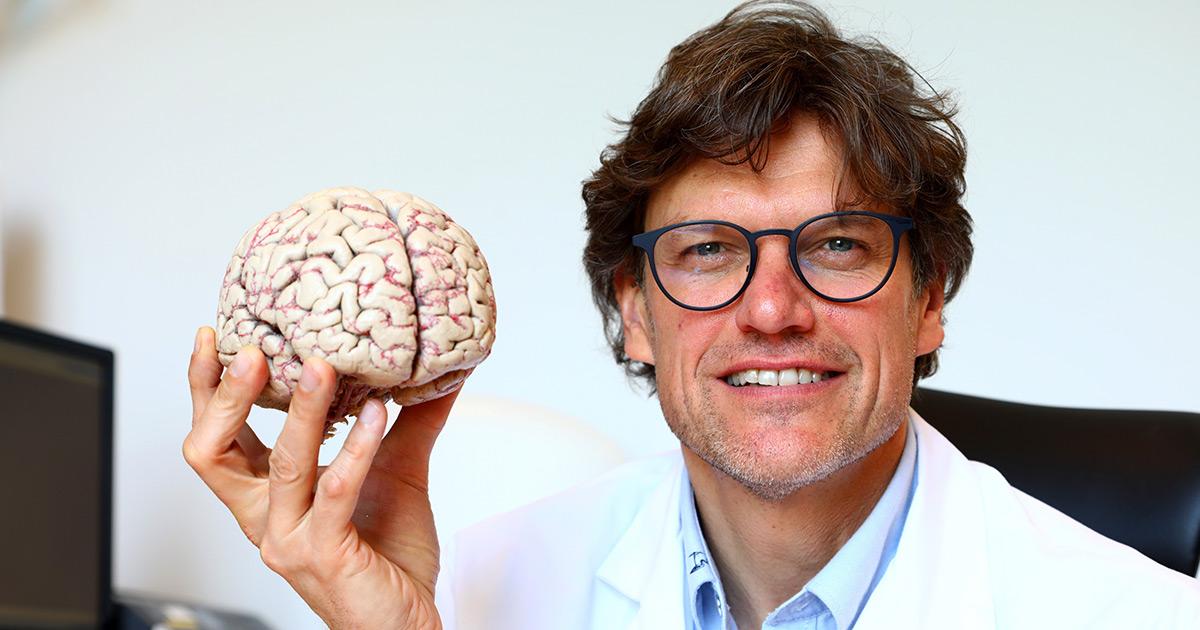 Dr. Steven Laureys, neuroloog.