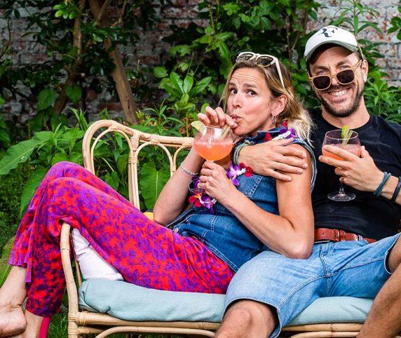 Tine Embrechts en Guga Baúl