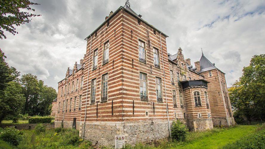 Het kasteel van Heers in Limburg