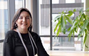 Marie Christine Marghem, ministre fédérale de l'Energie, de l'Environnement et du Développement durable.