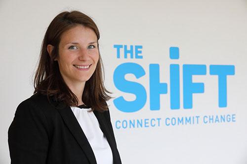 Marie Delvaulx, directrice de The Shift.