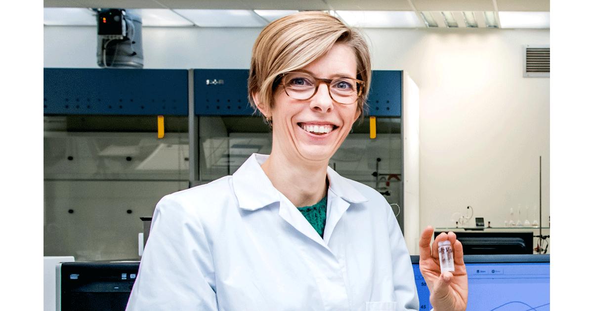 Prof. dr. Marlies Van Bael, voorzitter vakgroep Chemie Uhasselt.