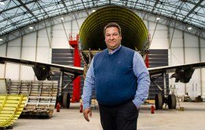 Koen Staut, CEO van Aerocircular.