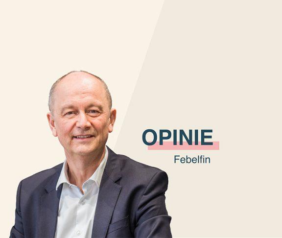 Karel Baert, CEO Febelfin.