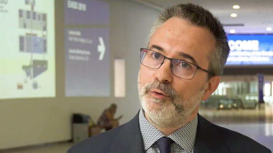 Pr Laurent Crenier, président de l'Association du Diabète.