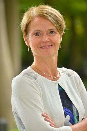 Griet Vanhoucke, Head of BeNeLux Fresenius Medical Care.