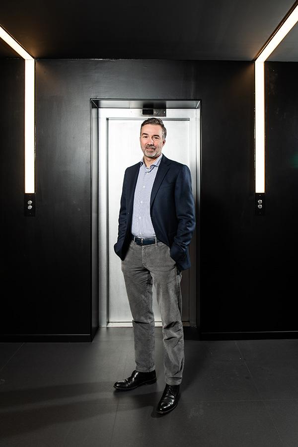 Marnix Denys, managing director bij beMedTech.