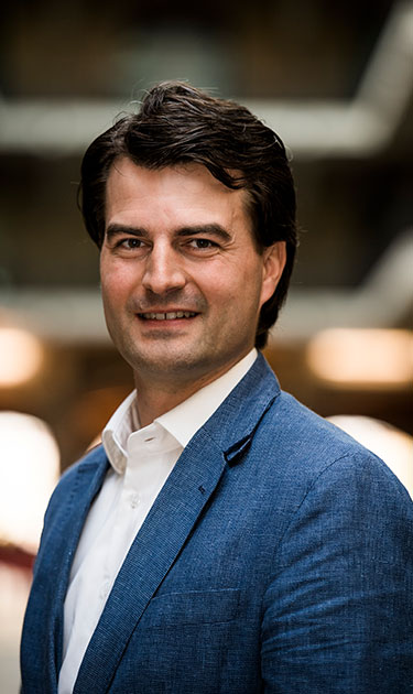 Thomas Van Maele, co-fondateur et CEO de Harmoney