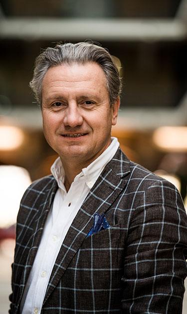 Jean-Louis Van Houwe, CEO de Monizze et directeur de Fintech Belgium