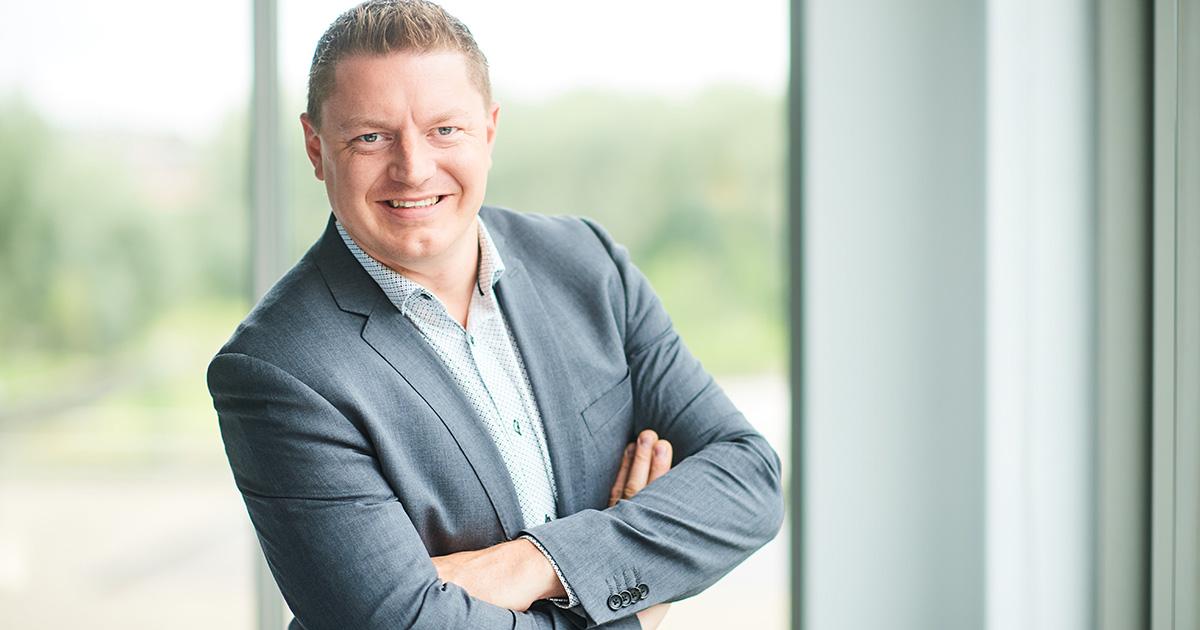 Koen Van Beneden, Managing Director van HP BeLux.