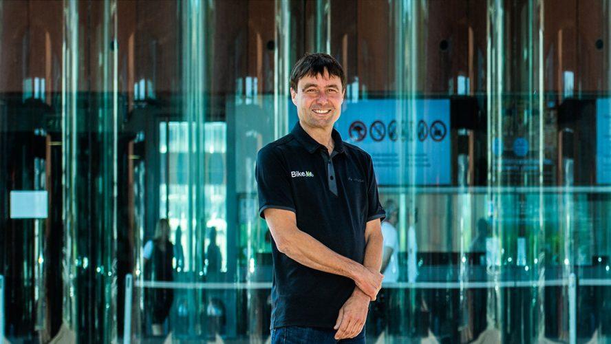 Marc Groven, oprichter en eigenaar iBike.