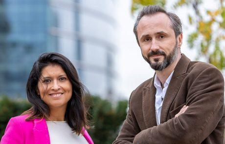 Erika Vazquez en Bertrand van de Putte, founders van Meraki.