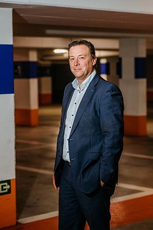 Kris De Pril, CEO Geosparc.