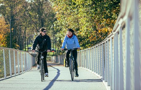 fietsen in Oost-Vlaanderen