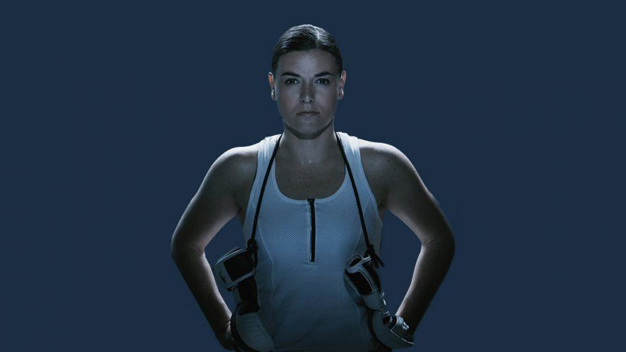 Dessi Zaharieva, combattante MMA et candidate au doctorat.