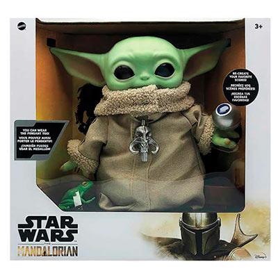 Star Wars The Child, le jouet en peluche de 11 pouces et ses accessoires