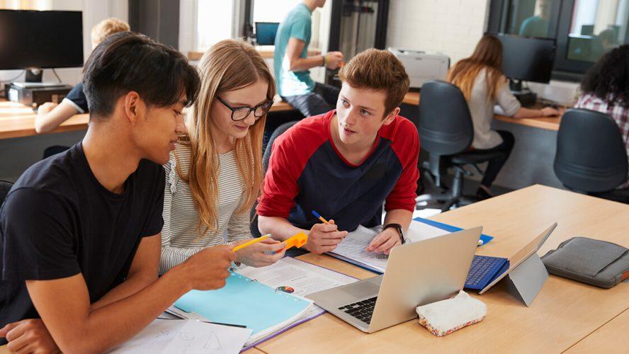 Unge studerende i uddannelsessituation