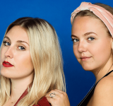 "Nanna og Josephine, Hovederne bag podcasten ""Fries Before Guys"""
