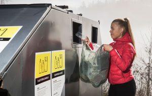 muovipakkausten kierrätys