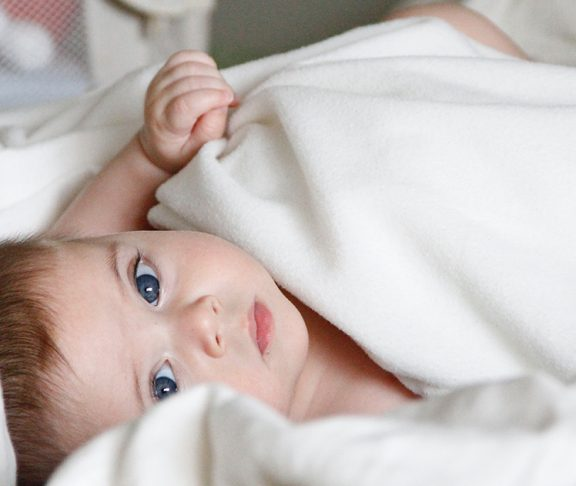 baby med Alfa-mannosidose