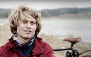 Lars Meyer på cykeltur