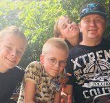 Eric Christensen og hans familie