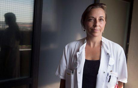 Helga Gulisano, Ledende overlæge på Aalborg Universitetshospital