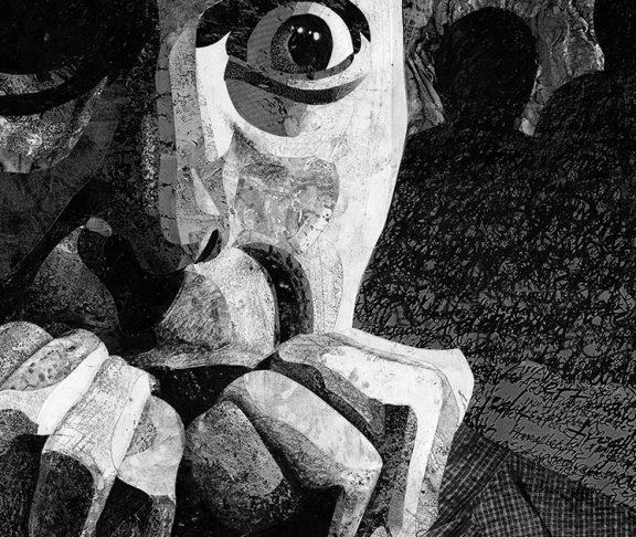tegning af skizofreni