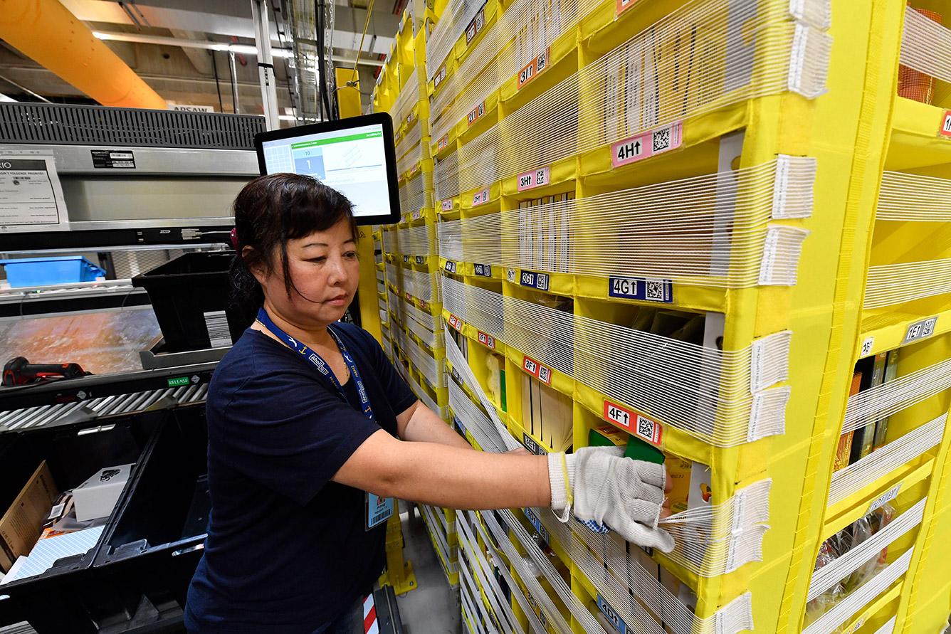 Amazon Logistikzentrum in Winsen - Deutschland