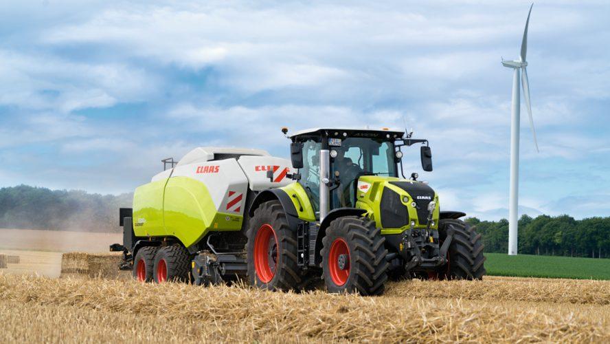 Auf Europas Feldern sind 70.000 ARION, 25.000 AXION und 15.000 CMATIC Getriebe im Einsatz. Die neueste Generation des AXION begeistert mit einem zwischen 10% und 20% gesteigerten Drehmoment. © CLAAS