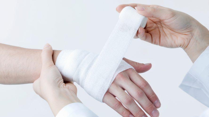 Apply a bandage