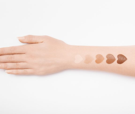 Foundation, Color Swatch, Hand, Skin, Face Cream