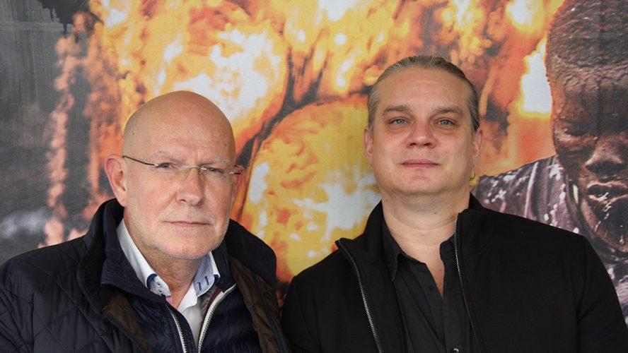 Regieteam Christian Krönes (li) Florian Weigensamer (re)