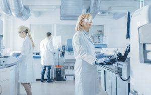 forskare labb