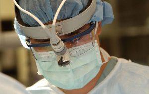 läkare munskydd